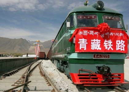 Tibet Train from Beijing to Lhasa