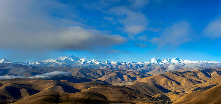 Gawura Pass to See Mount Everest