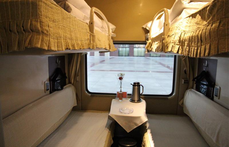 The Soft Sleeper of Qinghai Tibet Train